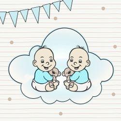 Erstausstattung für Zwillinge