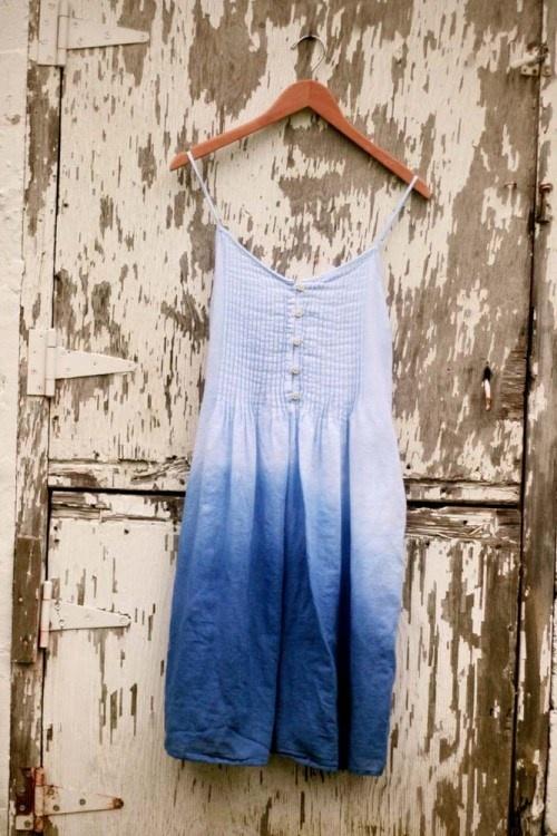 DIY: ombre dress