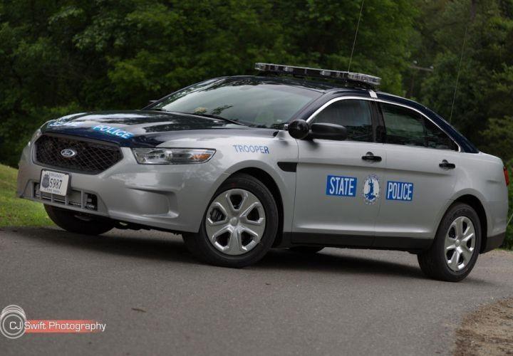 The Virginia State Police's 2013 Ford Police Interceptor sedan