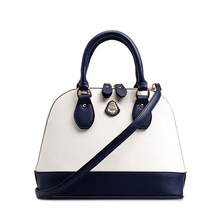 "FTSUCQ Womens Leather Shell Shoulder Handbags Messenger Blue and White Tote Bags M. Material: Superior PU leather; Inner Material: Polyester. Size: Big-11.81""(L) X 8.66""(H) X 3.93""(Tote); Small-9.84""(L) X 7.08""(H) X 3.54""(Tote) for inches. Shoulder Strap Length: 20.86"", US trademark: FTSUCQ, Customer Notice: Fashion TSUCQ is the only SELLER authorized by the brand FTSUCQ, if you chose other seller, you will can not been guaranteed with good quality and service. Color: Black, Blue, Blue…"