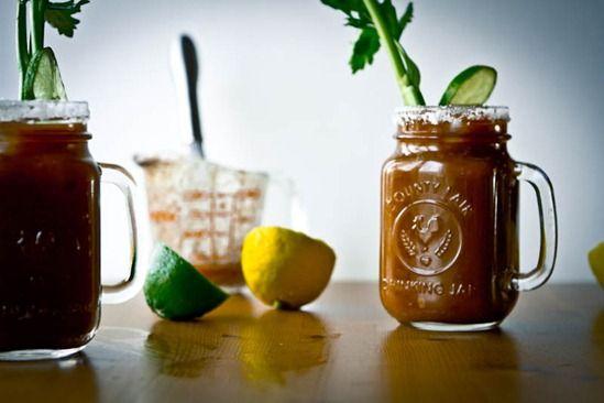 Homemade Vegan Caesar Cocktail — Oh She Glows