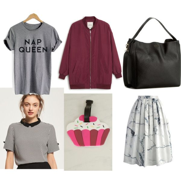 A fashion look from April 2017 by somolicek featuring Monki and Chicwish