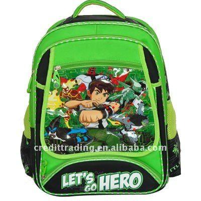 Source cartoon of ben 10 school bag for kids on m.alibaba.com