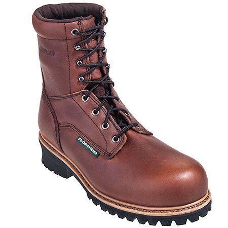 Florsheim Boots: Men's FE860 Lumberjack EH Waterproof Composite Toe Boots,    #Boots,    #FE860,    #Florsheim