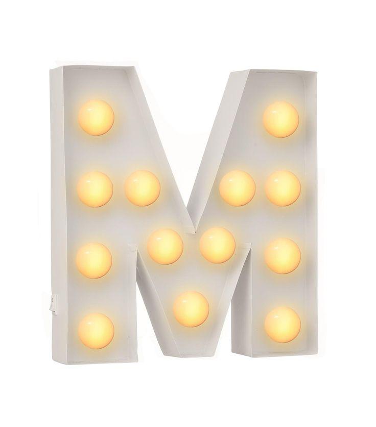 letterverlichting M - HEMA