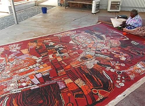 ART D'AUSTRALIE - Abie Loy Kemarre...… - Barbara Weir,… - Kathleen Petyarre… - Le Temps du rêve...… - Adieu Nyurrapaya - Art ancestral mais… - Les toiles de Judy… - Modernité du mythe… - Aux sources de la… - L'art aborigène… - Peindre le vent...… - Paddy Carroll… - MIick Tjampijinpa,… - Ningura Napurrula,… - Papunya Tula,… - Peinture aborigène d'Australie et d'ailleurs