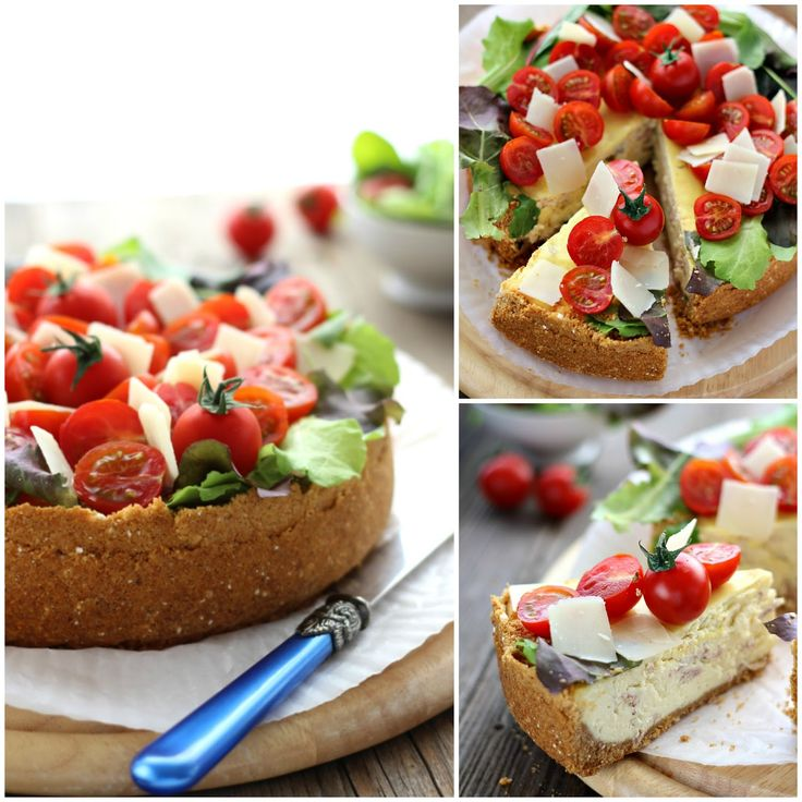 Cheesecake salata al parmigiano reggiano