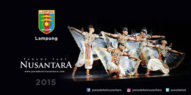 Parade Tari Nusantara 2015 : Tehamburno Gerudo, Lampung