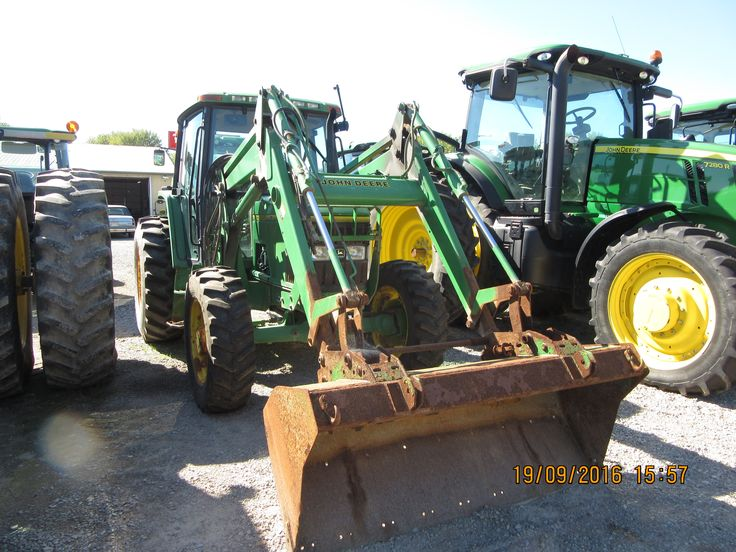66hp John Deere 6200 equipped with 640 loader