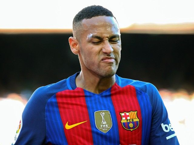 Barcelona's Neymar 'unharmed' after crashing Ferrari #Barcelona #Off_The_Pitch