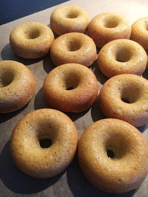 Herkulliset donitsit uunissa ( ilman uppopaistoa)