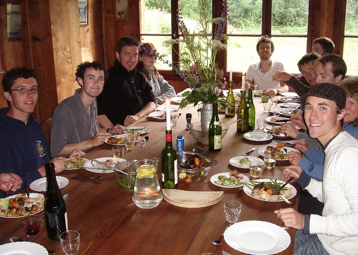 Another incredible meal at the Chalet des Anglais.