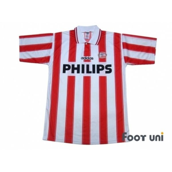 Photo1: PSV Eindhoven 1994-1995 Home Shirt #adidas - Football Shirts,Soccer