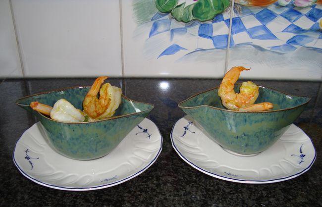 Recept voor Hapje met quinoa en scampi. Meer originele recepten en bereidingswijze voor voorgerechten & hapjes vind je op gette.org.