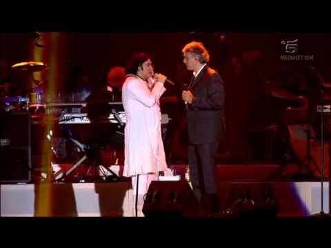 """""""Piu' su"""" - Renato Zero & Andrea Bocelli - """"ZeroSei"""" Roma"""