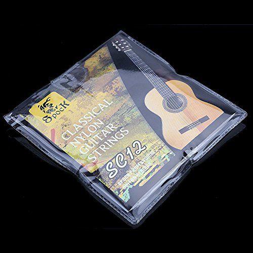 mylunn (TM) Lot de 6/Set de cordes en nylon plaqué argent Guitare professionnel pour guitare acoustique classique de qualité supérieure:…