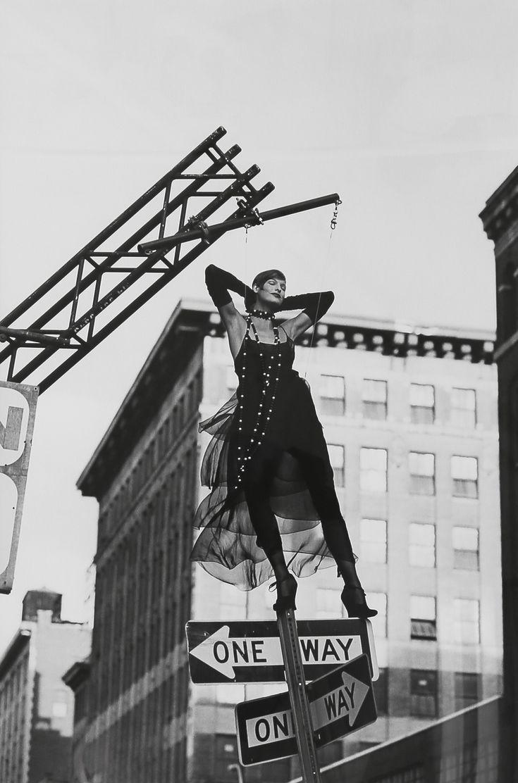 Linda Evangelista, New York, 1992. Photo Peter Lindbergh