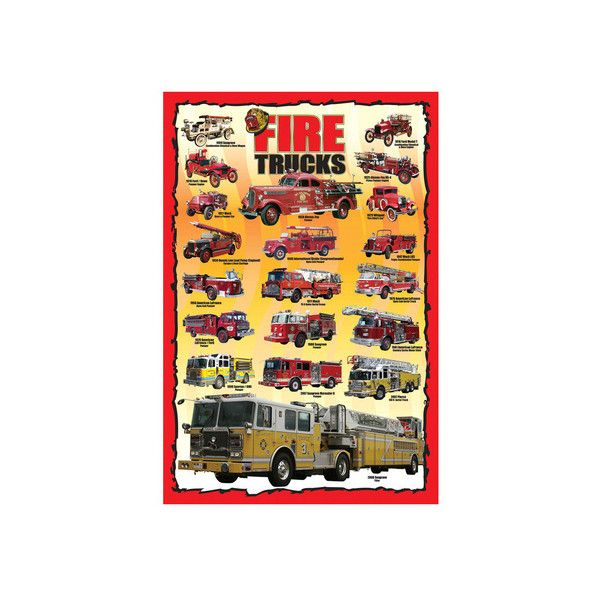 Fire Trucks for Kids Wall Art Print ($25) ❤ liked on Polyvore featuring home, home decor, wall art, basketball, entertainment, nba, nba teams, pro basketball leagues, sports and traditional sports
