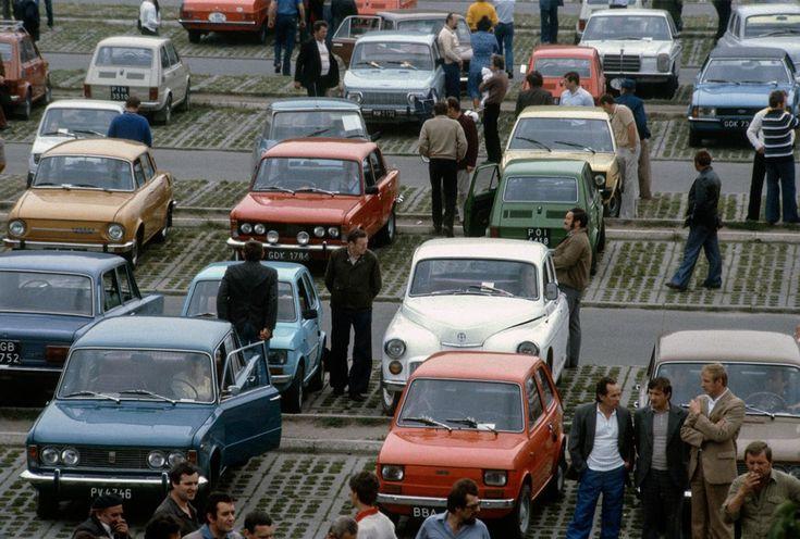 Giełda samochodowa, Poznań, lata 80.