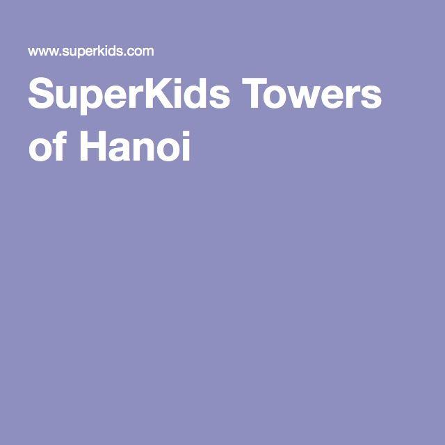 SuperKids Towers of Hanoi