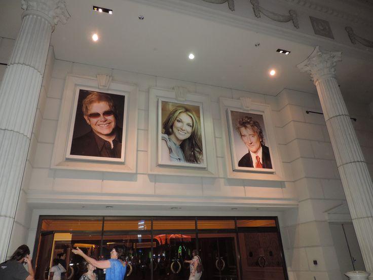 Eltho Jhon, Celine Dion y Rod Stewar