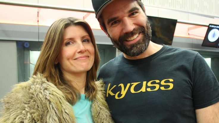 Sharon Horgan with Rob Delaney