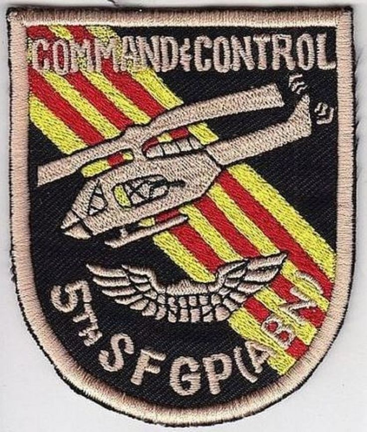 Green Beret US Army Vietnam 5th Special Forces Group ABN Command Control Aviatio