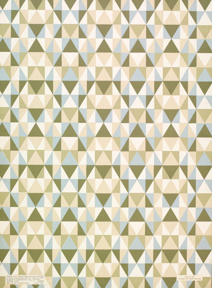 Taliesin Pattern / Frank Lloyd Wright