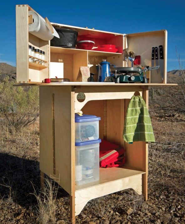 105 best camping images on pinterest - Camping Kitchen Ideas