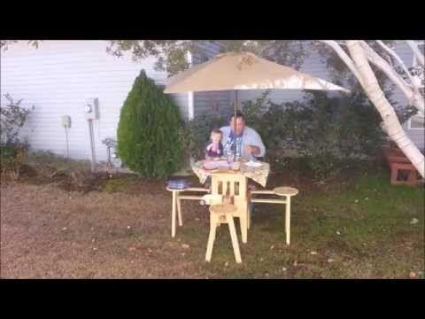 Bem Legaus!: Mesa de dobrar