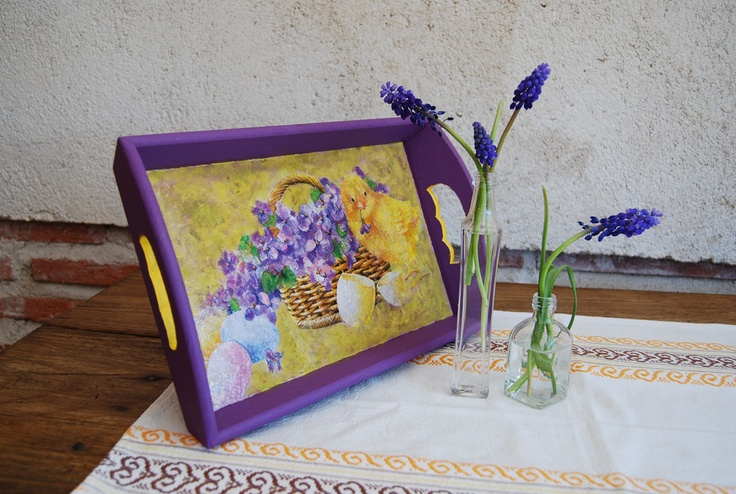 Bandeja lila