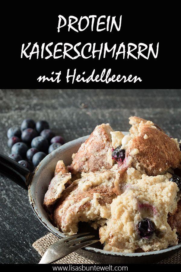 Fitness Rezept Gesunder Protein Kaiserschmarrn Mit Heidelbeeren In 2020 Kaiserschmarrn Rezepte Und Lebensmittel Essen