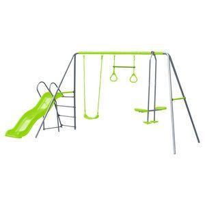 Action Sports 3 Unit Swing Set