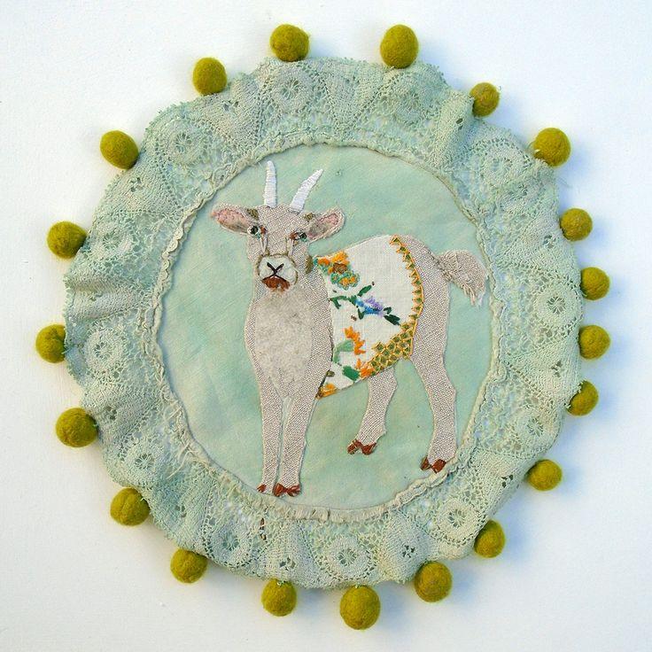 Folk goat with bobbles