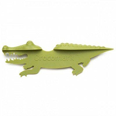 CROCOMARK Crocodile Bookmark by Peleg Design