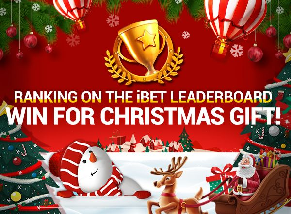 Ranked on The iBET Leaderboard, Win For Christmas Gift ...