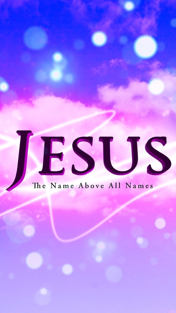 I Love Jesus Wallpaper For Iphone : Jesus: The name above all names - christian iPhone Wallpaper / Bible Lock Screens - Get the ...