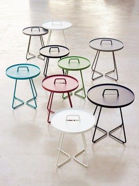 ON-THE-MOVE SIDE TABLE (COLOR GROUP)