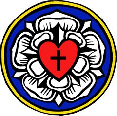 Martin Luther's Seal or Coat of Arms - Coloring and explanation
