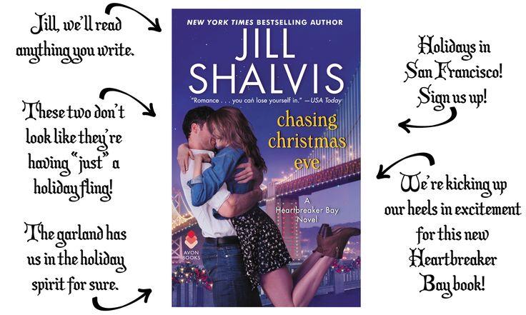 Cover Breakdown: Jill Shalvis's CHASING CHRISTMAS EVE