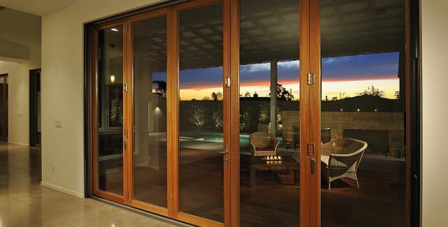 View LaCantina Doors Residential Folding and Multi-Slide Doors Photo Gallery. LaCantina Doors combine high quality and durability. & 52 best Aluminum bifold doors images on Pinterest | Folding doors ...