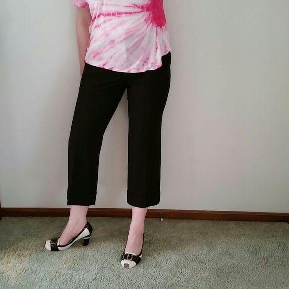 Michael Kors Brown Capri Trouser Bermuda Shorts 10 Like new. Not lined. MICHAEL Michael Kors Shorts Cargos