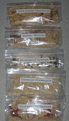 Homemade Instant Oatmeal Packets(Vegan)