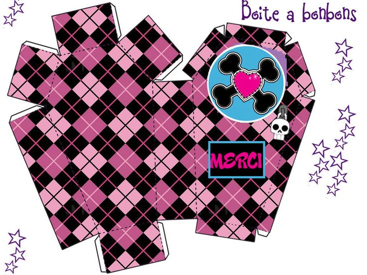"THEME ""MONSTER HIGH"" ET LE CARNET D'AMITIE - 1 et 2 et 3 DOUDOUS * PATRONS* PATTERNS * GABARITS FETE A THEMES POUR ENFANTS"