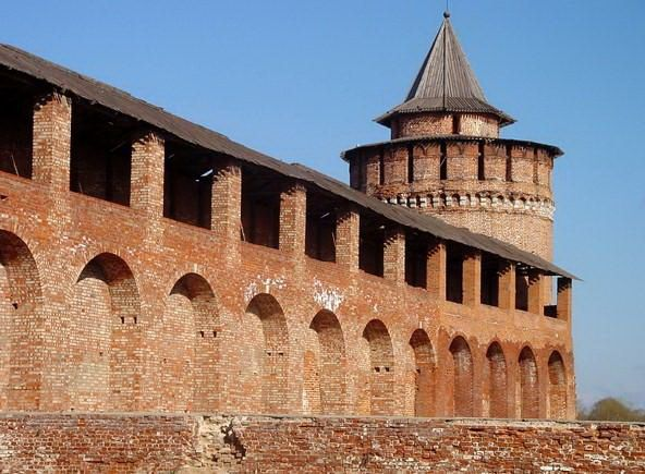 Русские крепости Коломна