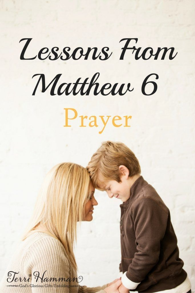 In Matthew chapter 6 Jesus teaches us the fundamental importance and value of prayer. Jon me as we study this portion in the book of Matthew and reveal what how we are to truly approach prayer. http://TerriHamman.com