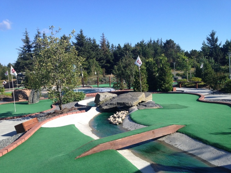 Love Adventure Golf - Westcoastminigolf, The Blue River. Denmark