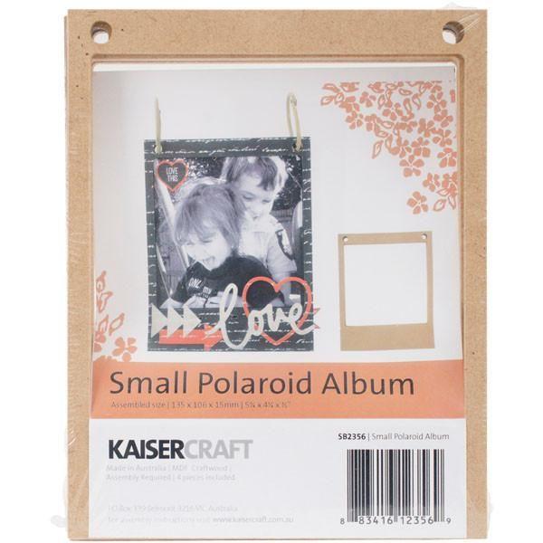 "Beyond The Page MDF - Polaroid Album 5.25""x4.25"""