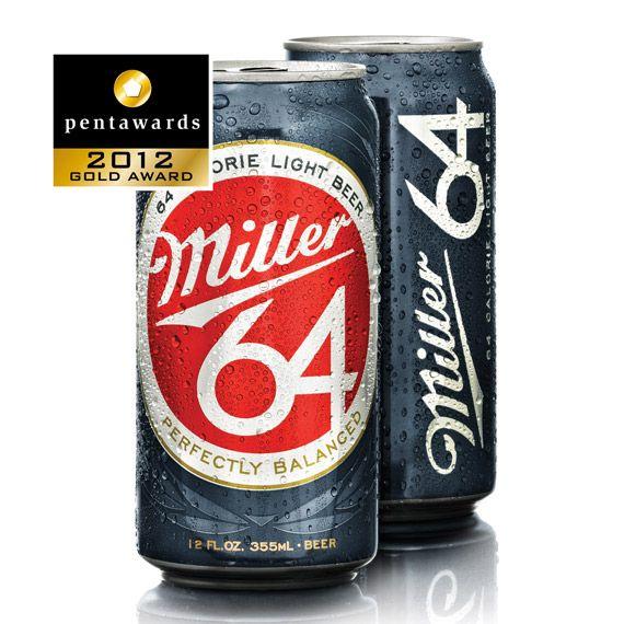Gold Pentaward 2012  Beverages –  Beer    Brand: Miller – Miller64    Entrant: Soulsight    Country: USA    www.soulsight.com