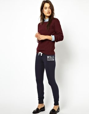 Jack Wills Skinny SweatPants & loafers
